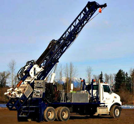 Abbotsford Well Drilling Rig - New Drilling Machine