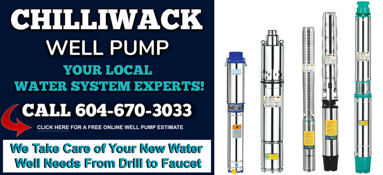 Chilliwack Well Pump Service