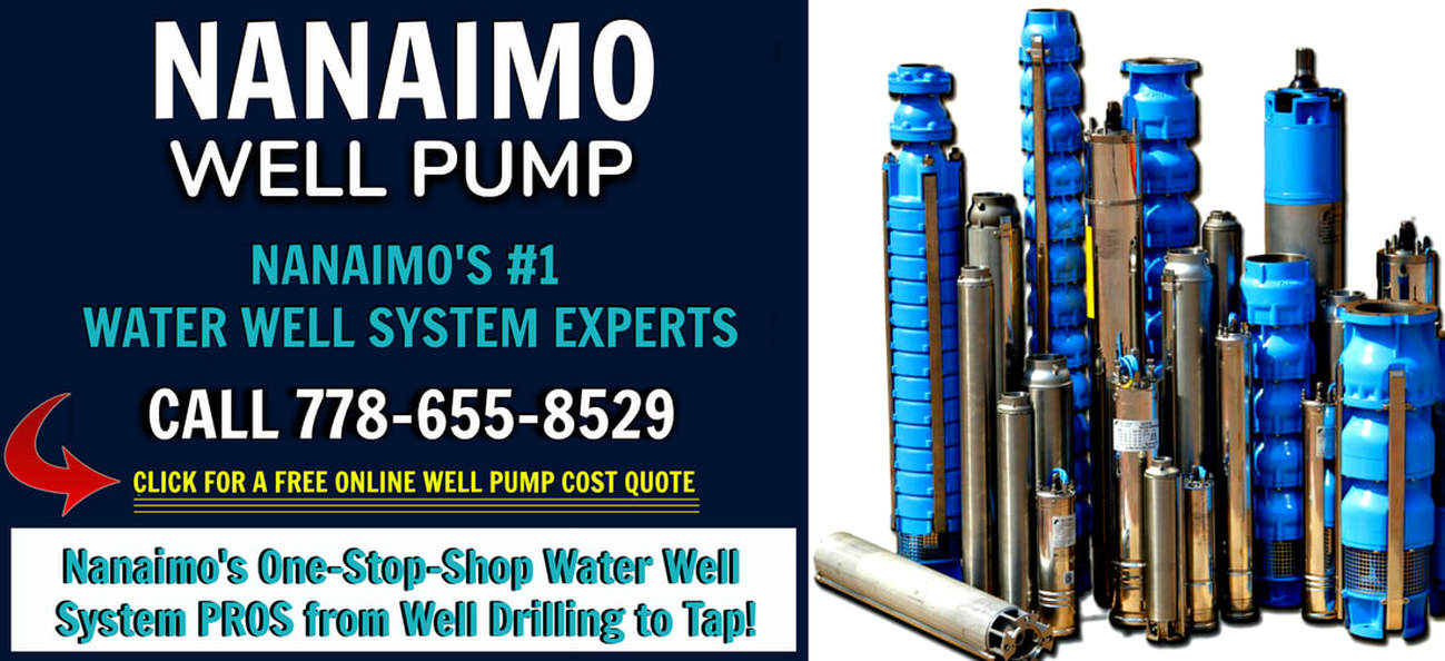 Nanaimo Well Pump and Well Pump Repairs