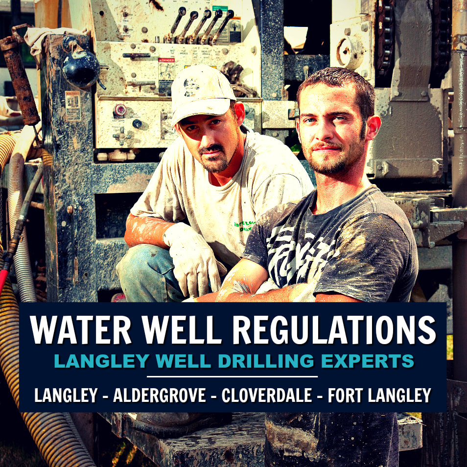Regulations & Bylaws for Well Drilling in Langley