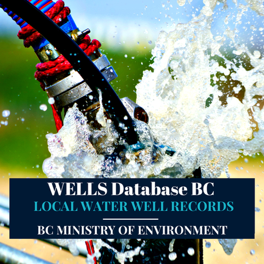 Ministry WELLS Database MOE Water Well Resources