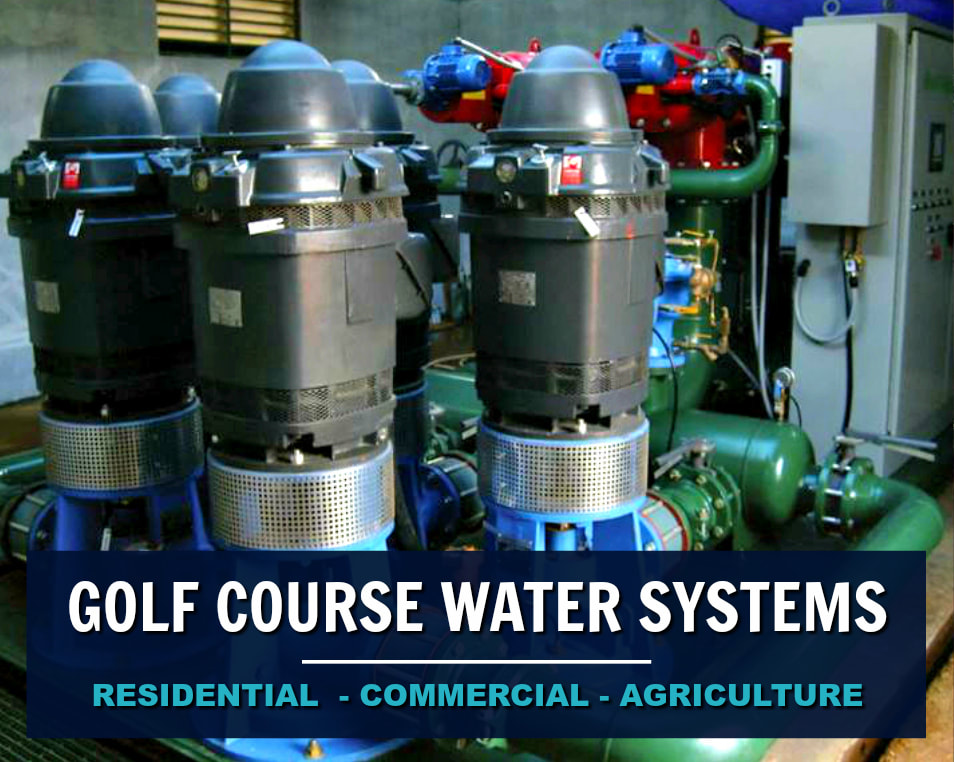 Golf Course Water Pumping System at Maple Ridge Golf Course