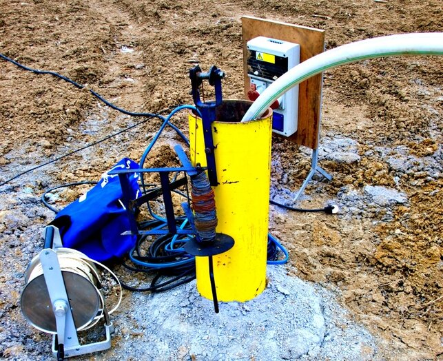 monitoring water well