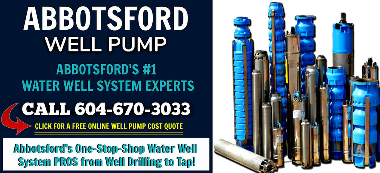 Abbotsoford Water Well Pump Service