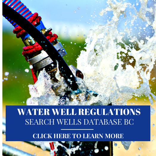 wells database bc fraser valley